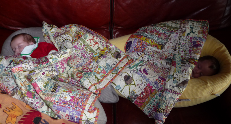 L&Z Nap under the quilts